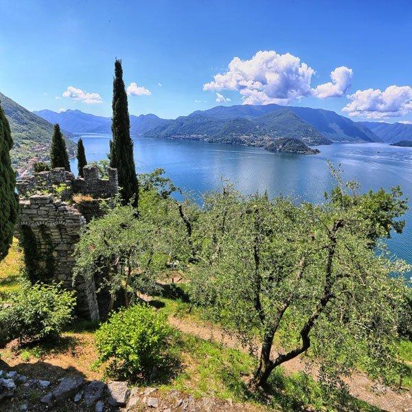 Castles on Lake Como