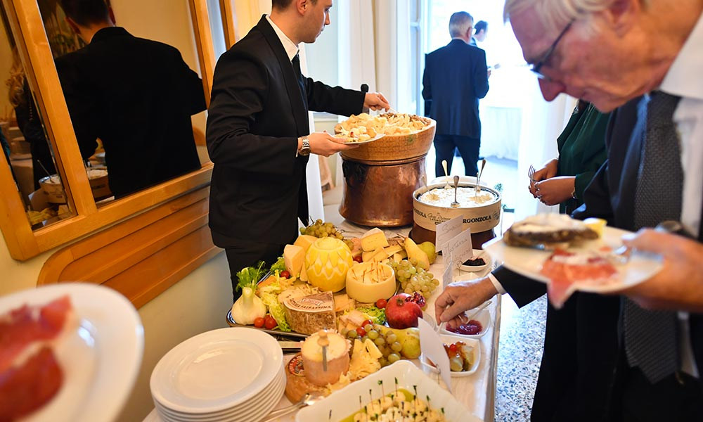 Villa Giulia ricevimento matrimonio - Buffet